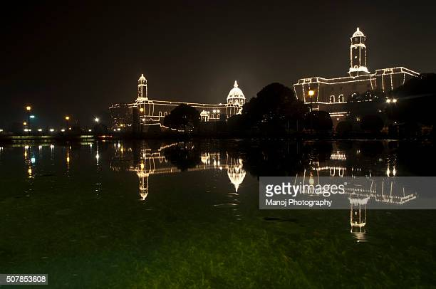 President's Palace Rashtrapati Bhawan, New Delhi, India