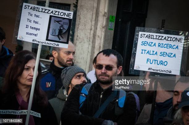 Presidium of the three trade unions CgilCislUil today in Montecitorio to be able to fight against the lack of funds for research Trade unions demand...