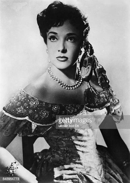 Presle Micheline Actress France * Scene from the movie 'Adventures of Captain Fabian'' Directed by William Marshall France / USA 1951 Vintage...