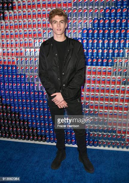 Presley Gerber at Pepsi Generations Live PopUp on February 2 2018 in Minneapolis Minnesota