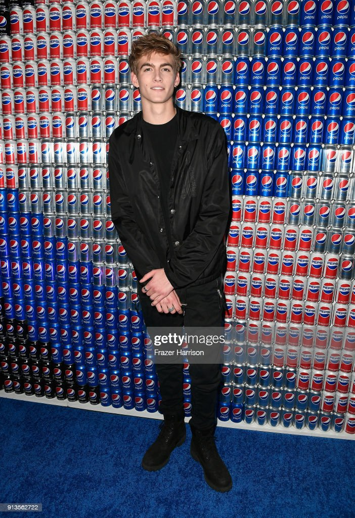 Presley Gerber at Pepsi Generations Live Pop-Up on February 2, 2018 in Minneapolis, Minnesota.