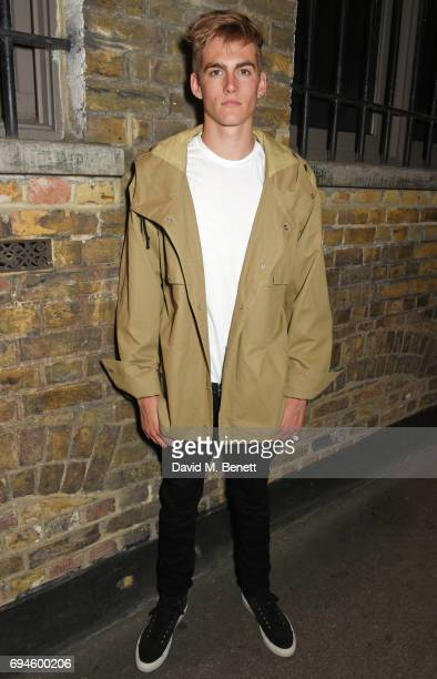 Presley Gerber attends a celebration of the Stella McCartney AW17 collection and film launch at Ye Olde Mitre on June 10 2017 in London England