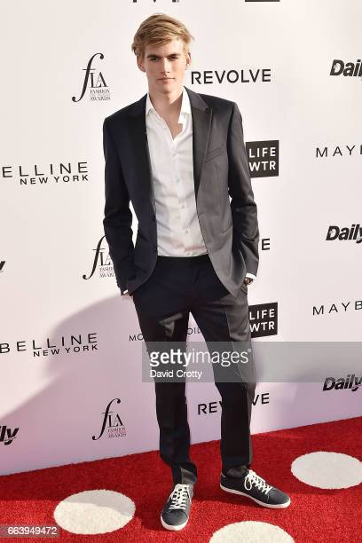 Presley Gerber attends the Daily Front Row's 3rd Annual Fashion Los Angeles Awards - Arrivals at Sunset Tower Hotel on April 2, 2017 in West...