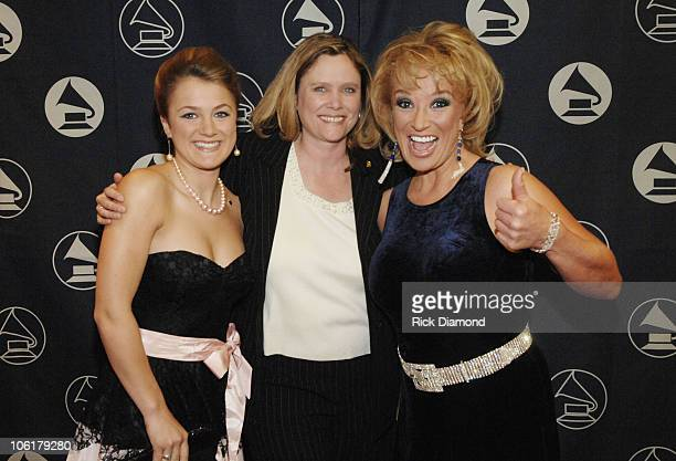 Presley Tucker Lyn Aurelius and Tanya Tucker during The Recording Academy Honors Nashville Chapter at Loews Vanderbilt Plaza Hotel in Nashville...
