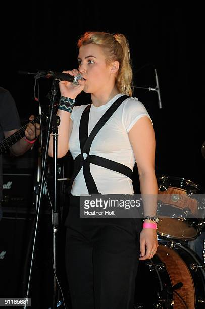 Presley Tucker performs at the 2nd Annual Malibu Music Awards on September 26 2009 in Malibu California