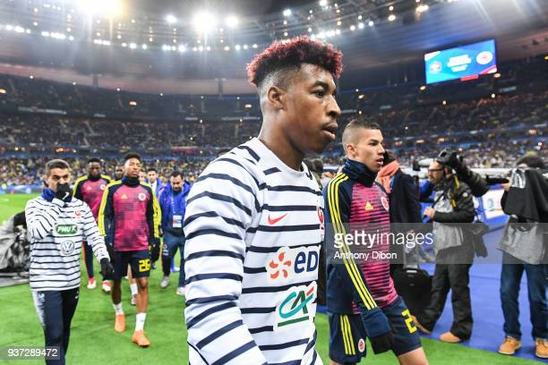 Presnel Kimpembe of France during the International friendly match between France and Colombia on March 23 2018 in Paris France