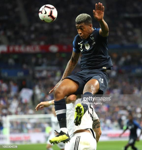 Presnel Kimpembe of France in action during the UEFA Nations League A Group 1 match between France and Germany at Stade de France in SaintDenis north...
