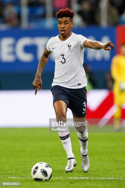 Presnel Kimpembe of France national team during the international friendly football match between Russia and France on March 27 2018 at Saint...