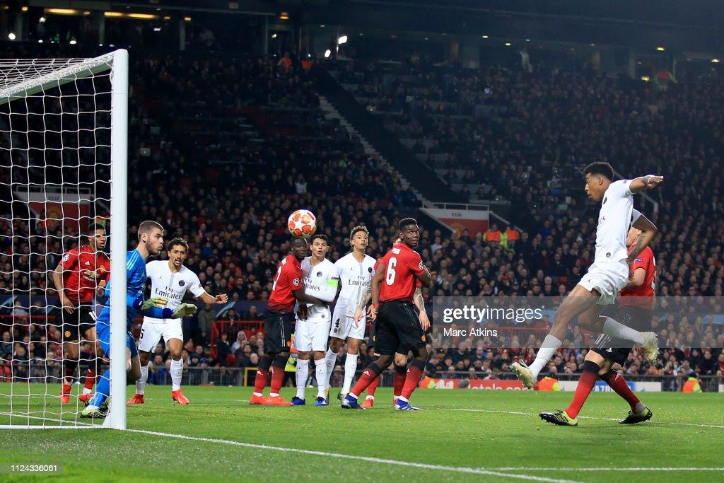 Manchester United v Paris Saint-Germain - UEFA Champions League Round of 16: First Leg : News Photo