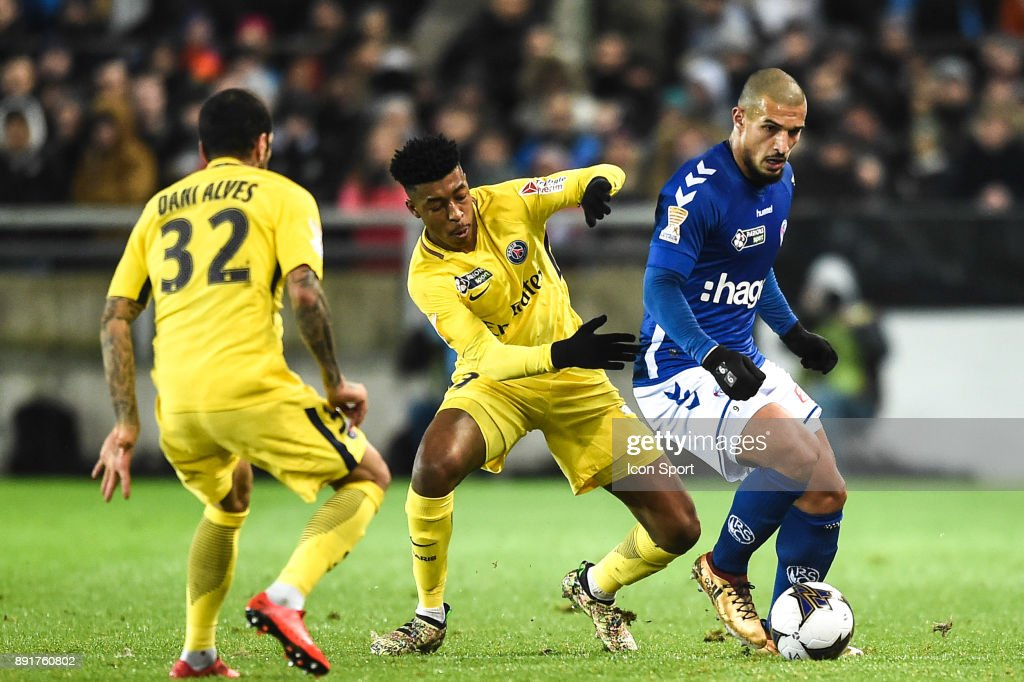 RC Strasbourg v Paris Saint Germain - French League Cup