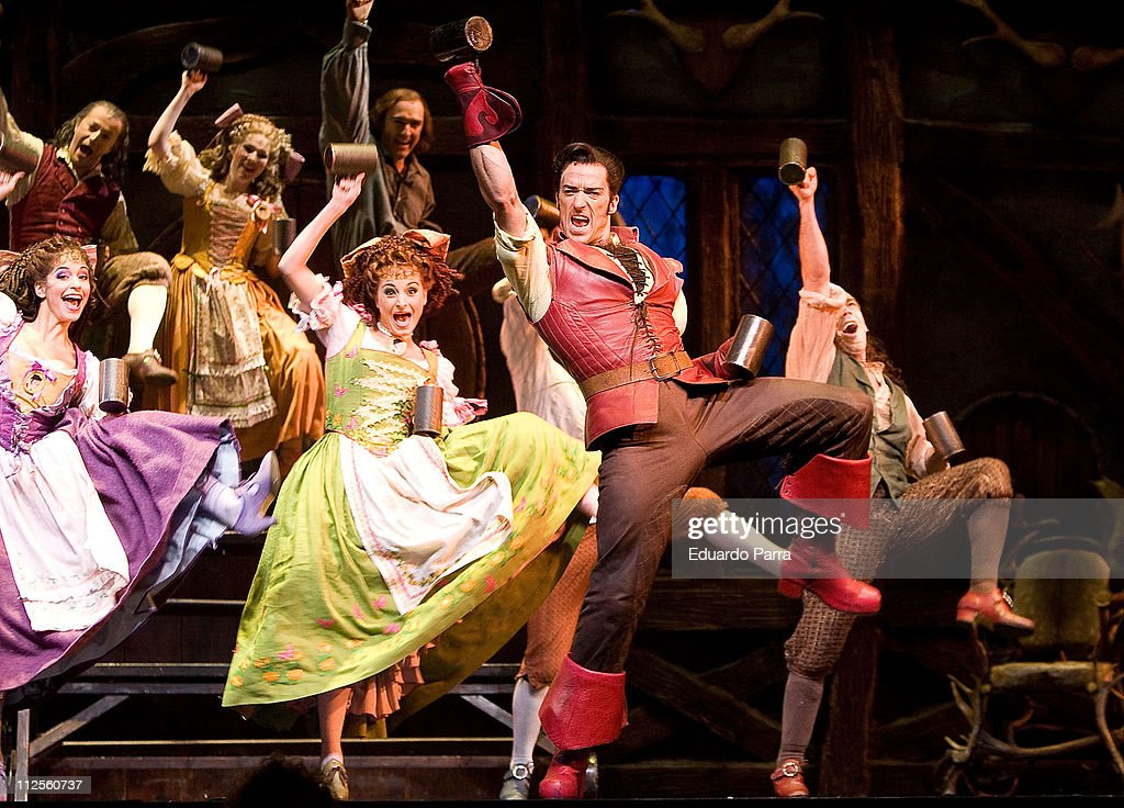 """""""Beauty and the Beast"""" Musical - Madrid Press Launch : News Photo"""