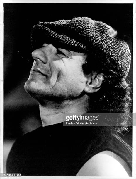 Press Conference at Entertainment Centre Brian Johnson Singer But to most critics the band is an embarrassing anachronism still chugging out the same...