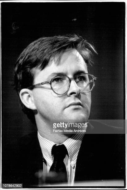 ALP Press Conference at State ParliamentLeft to right Anthony Albanese March 25 1994