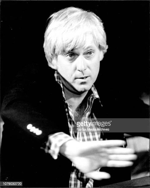 Press Conference for visiting American singer Jack Jones at the Sebel Town House Kings Cross April 29 1981