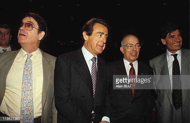 Press Conference Group Lagardere On February 02nd 1993