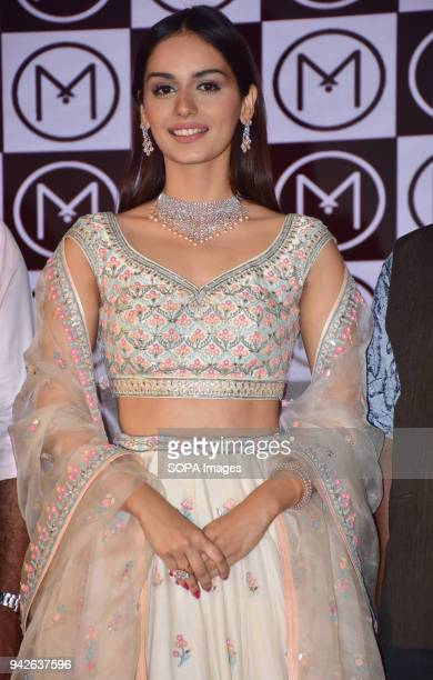 Press Conference hosted as Malabar Gold Diamonds sign Miss World Manushi Chhillar as a brand ambassador for their youth brand gold collection at...