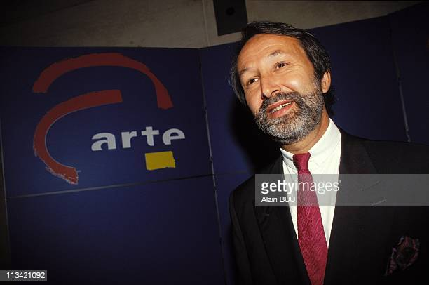 Press Conference Of CEO Of Arte On September 10th, 1992