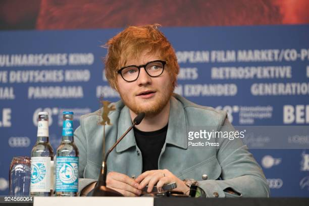 Press conference of Ed Sheeran during the Berlinale 2018