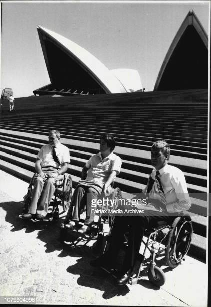 Press Conference of severely injured people in Wheelchair outside opera house todaySee enclosed Press ReleaseMark Bagshaw Chairman Australian...