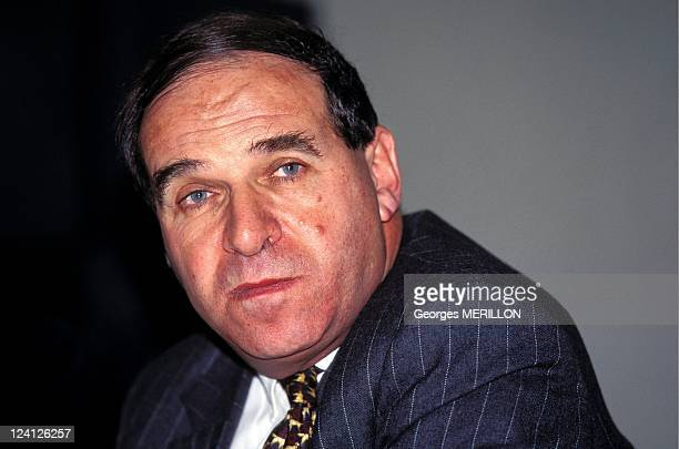 Press Conference of Sir Leon Brittan In Paris France On February 13 1996