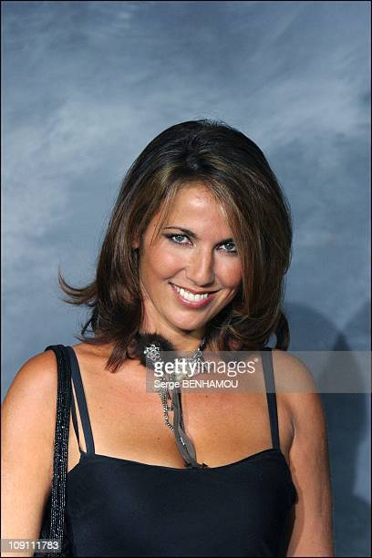 Press Conference Of Tf1 French Tv Channel On August 27 2003 In Paris France Natacha Amal