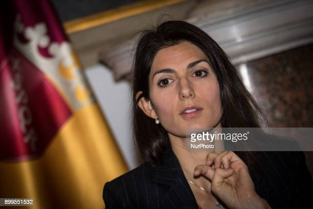 Press conference of the Mayor Virginia Raggi the action of relaunching and development of Ipa the Institute of Social Security and Assistance for...