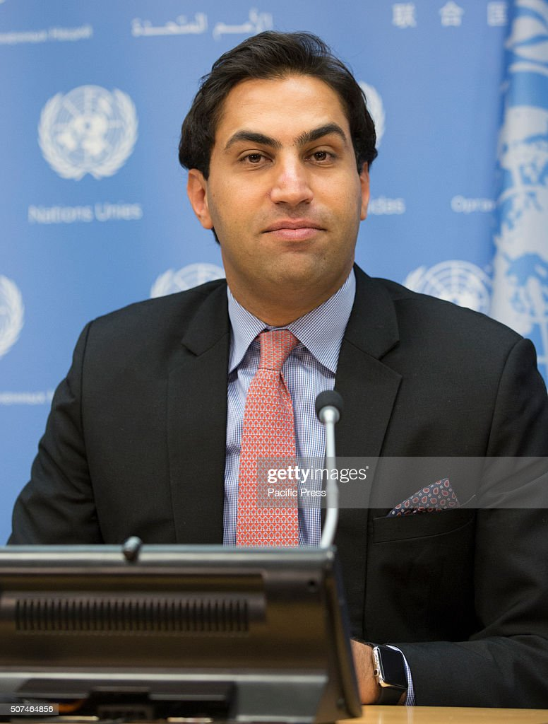 Ahmad Alhendawi press conference on the 2016 ecosoc youth forumahmad