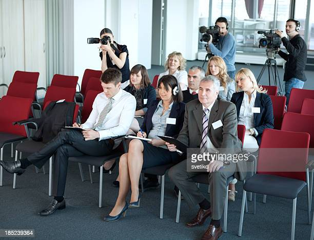 Press conference.