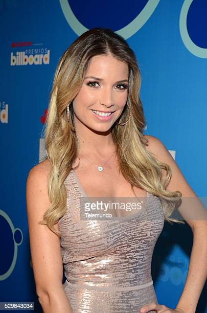 AWARDS 2014 Press Conference Pictured Alessandra Villegas at the Press Conference for the 2014 Billboard Latin Music Awards presented by State Farm...