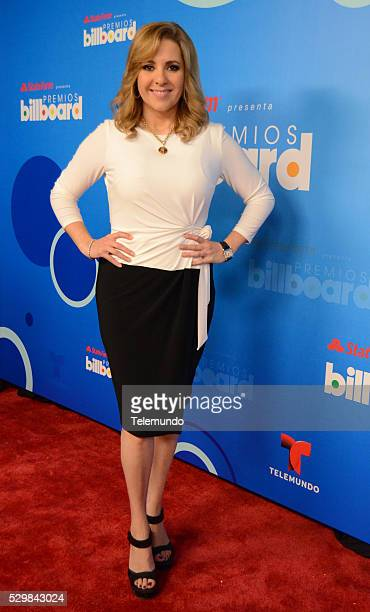 AWARDS 2014 Press Conference Pictured Ana Maria Conseco at the Press Conference for the 2014 Billboard Latin Music Awards presented by State Farm...