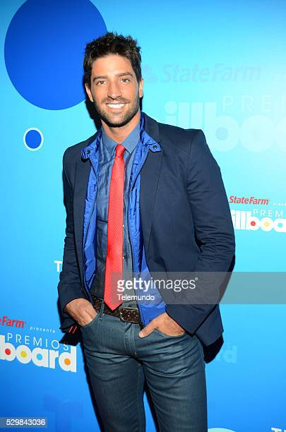 AWARDS 2014 Press Conference Pictured David Chocarro at the Press Conference for the 2014 Billboard Latin Music Awards presented by State Farm from...