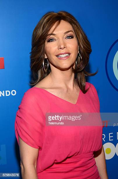 AWARDS 2014 Press Conference Pictured Laura Flores at the Press Conference for the 2014 Billboard Latin Music Awards presented by State Farm from...