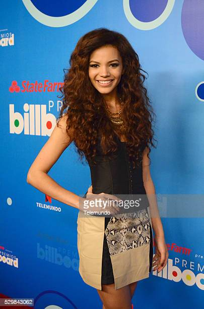 AWARDS 2014 Press Conference Pictured Leslie Grace at the Press Conference for the 2014 Billboard Latin Music Awards presented by State Farm from...