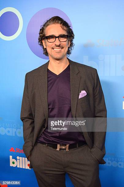 AWARDS 2014 Press Conference Pictured Miguel Varoni at the Press Conference for the 2014 Billboard Latin Music Awards presented by State Farm from...