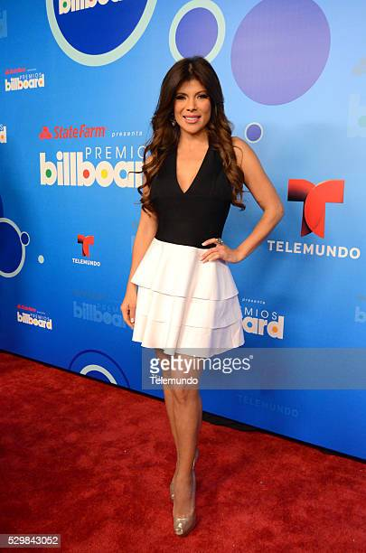 AWARDS 2014 Press Conference Pictured Mireya Grisales at the Press Conference for the 2014 Billboard Latin Music Awards presented by State Farm from...
