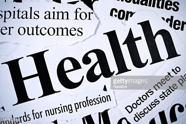 プレスヘッドラインズすべての健康問題に関連する
