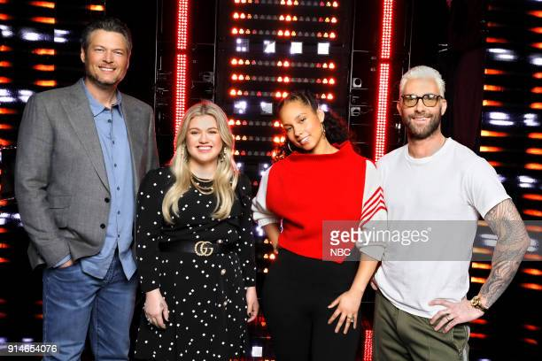 THE VOICE Press Junket Pictured Blake Shelton Kelly Clarkson Alicia Keys Adam Levine Firsttime coach and superstar recording artist Kelly Clarkson is...