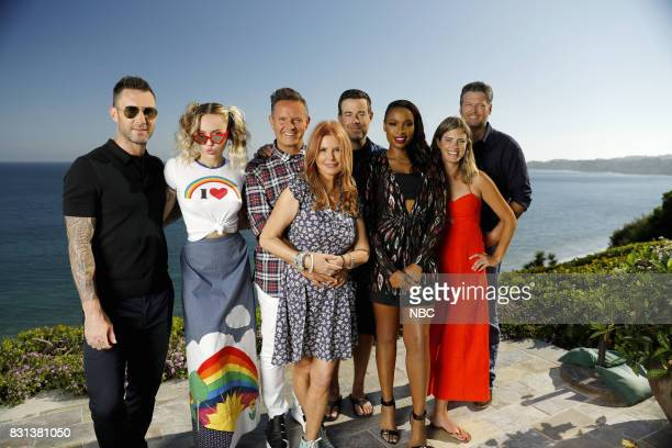 THE VOICE 'Press Junket' Team Voice enjoys a picturesque Southern California prior to the twohour premiere of season 13 which is set for Monday Sept...