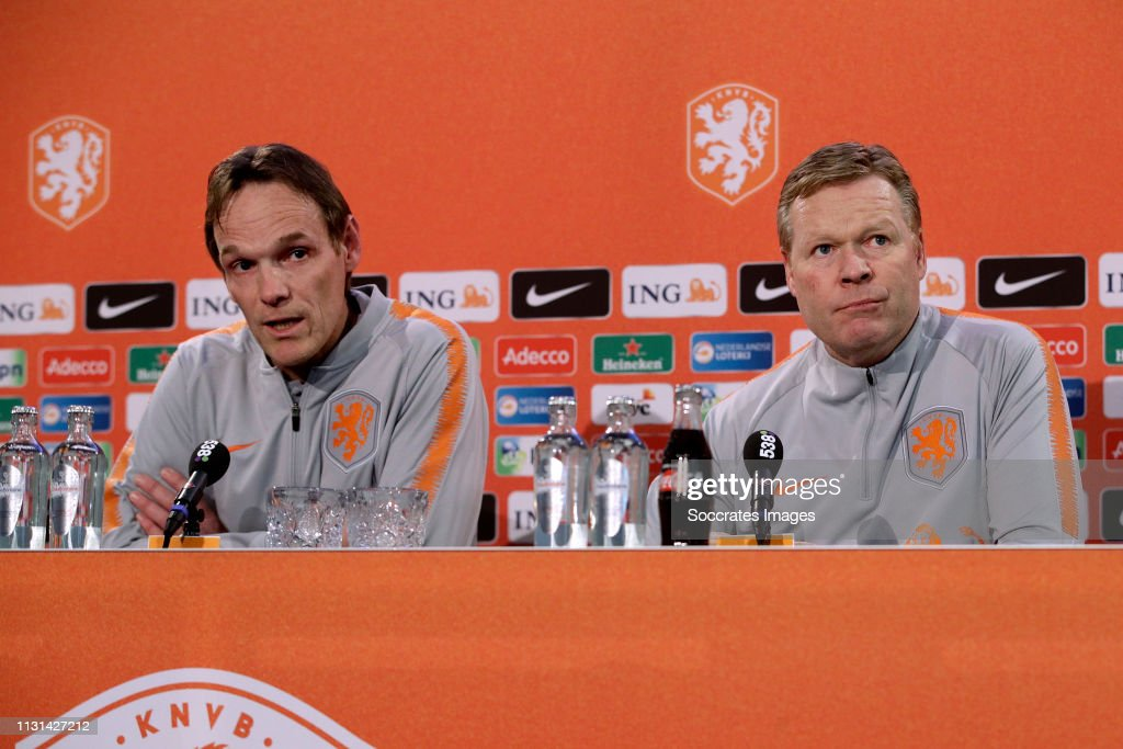 NLD: Netherlands Press Conference and Training Session