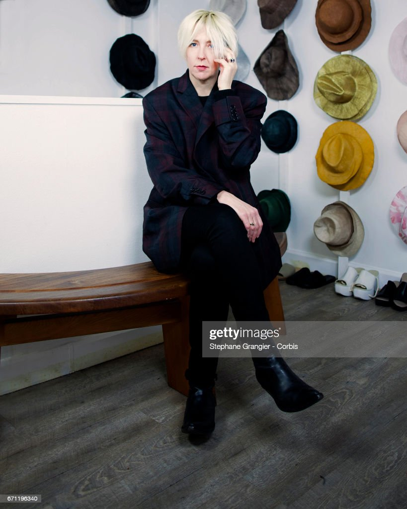 Press officer, Ritual Projects, Robin Meason poses during a photo-shoot on January 10, 2017 in Paris, France. (Photo by Stephane Grangier/Corbis via Getty Images)>> on April 19, 2017 in Paris, France.