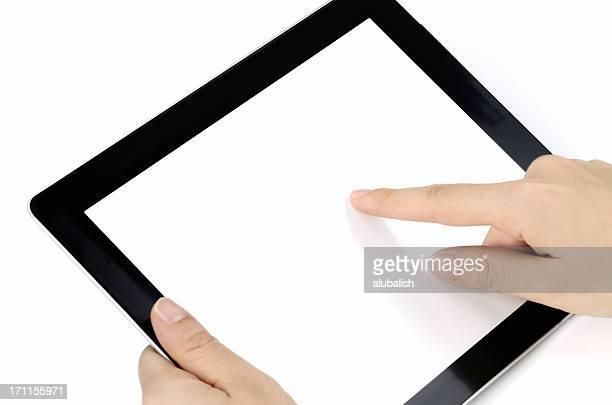 Drücken Sie auf Tablet PC