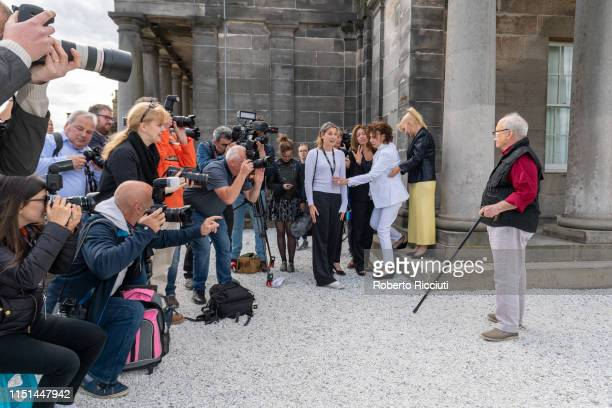 Press photographers photograph Richard Dreyfuss at a photocall for the World Premiere of 'Astronaut' during the 73rd Edinburgh International Film...