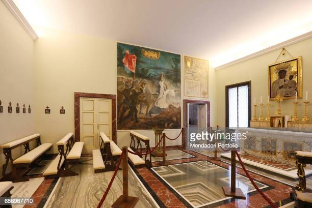Press preview for the international journalists before the Pope's Apartments in the Apostolic Palace open to the public The Private Chapel dedicated...