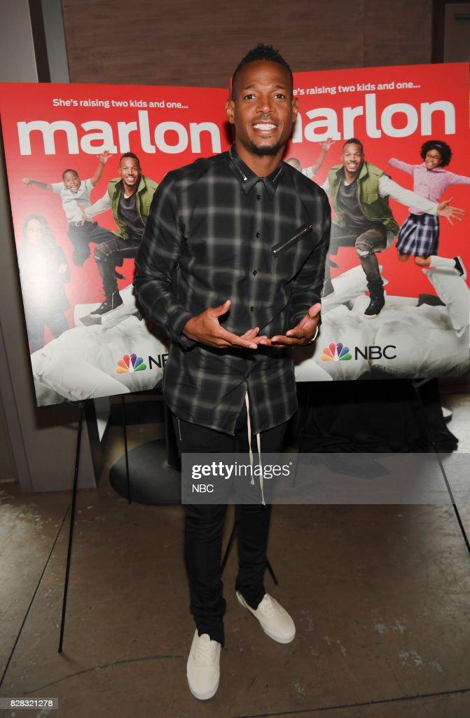 """NBC's """"Marlon Press Reception"""" - Event"""