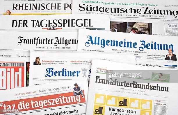 を押して、レビュー、ドイツの新聞