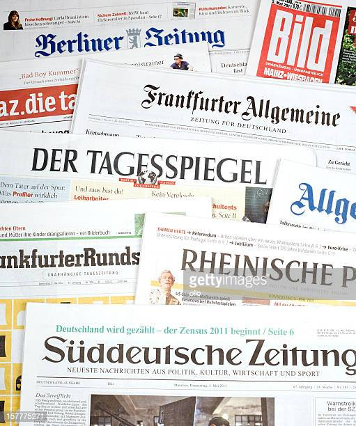 Revue de presse, de journaux allemand