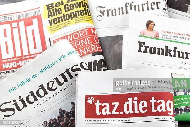 Press review, german newspapers