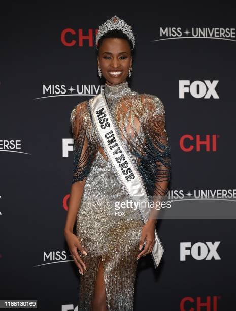 Press Room Miss South Africa Zozibini Tunzi is crowned the new Miss Universe at the 2019 MISS UNIVERSE competition airing LIVE on Sunday Dec 8  on FOX