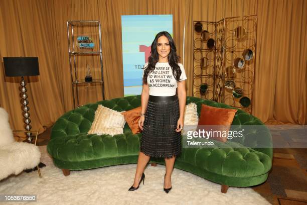 AWARDS 'Press Room' Pictured Ana Lorena Sanchez at the Dolby Theatre in Hollywood CA on October 25 2018