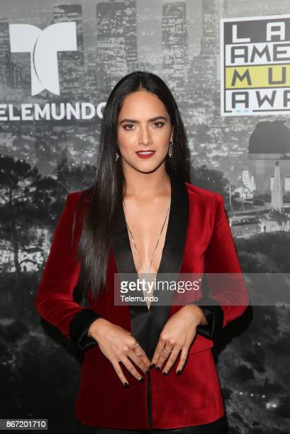 AWARDS 'Press Room' Pictured Ana Lorena Sanchez at the Dolby Theatre in Hollywood CA on October 26 2017